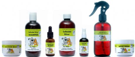 COLLOIDAL SILVER FOR PETS  COMBINATION PACKS